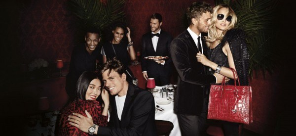 Conrad Bromfield campaigns for Michael Kors Holiday 2014