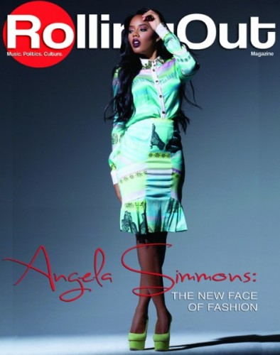 cc98efbd3c6 ... The New Face Of Fashion  Angela Simmons For Rolling Out s October 2014  Issue ...