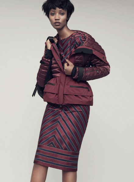 French Model Nadja Giramata For Harper's Bazaar UK October 20141