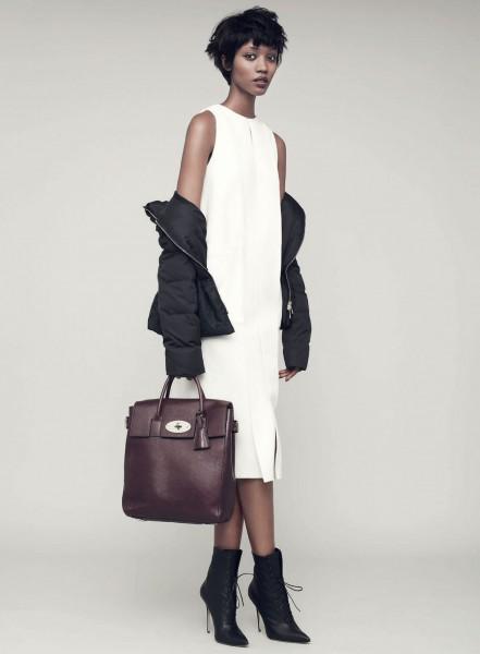 French Model Nadja Giramata For Harper's Bazaar UK October 20142