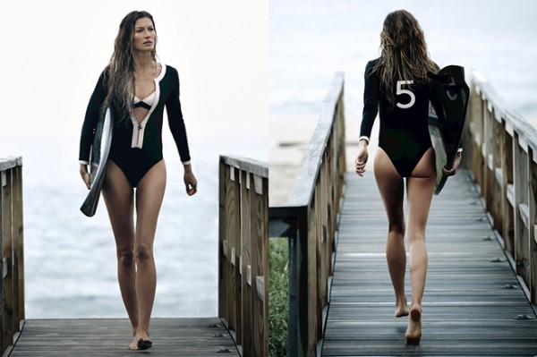 Gisele Bündchen Goes Surfing In New Chanel Campaign