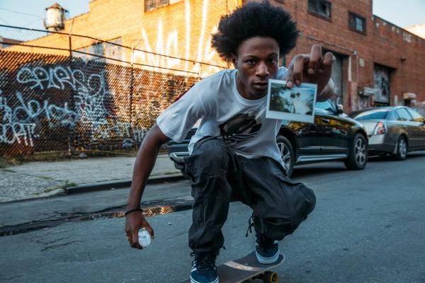 Joey Bada$$ Models adidas Skateboarding 7