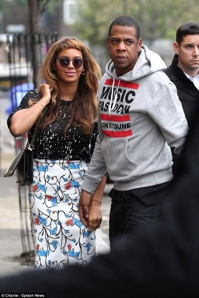 London Town Beyoncé & Jay Z Out & About 6