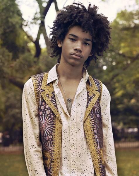 Luka Sabbat's Vogue Fashion Editorial  3