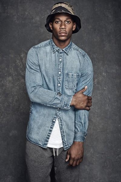 NFL Player Victor Cruz Stars In Kith x Ones Stroke Capsule Lookbook2