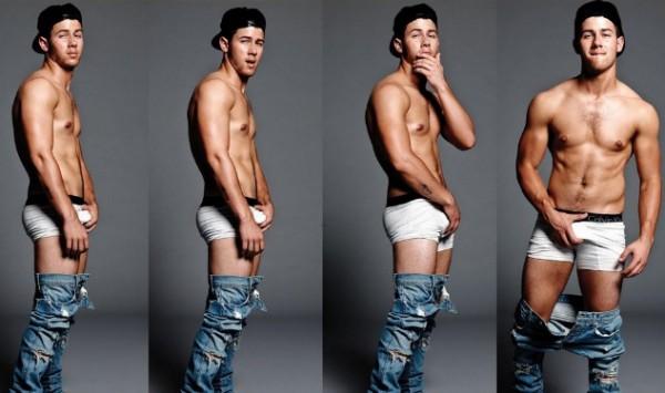 Nick Jonas Models In His Calvin Klein Undies For Flaunt Magazine1