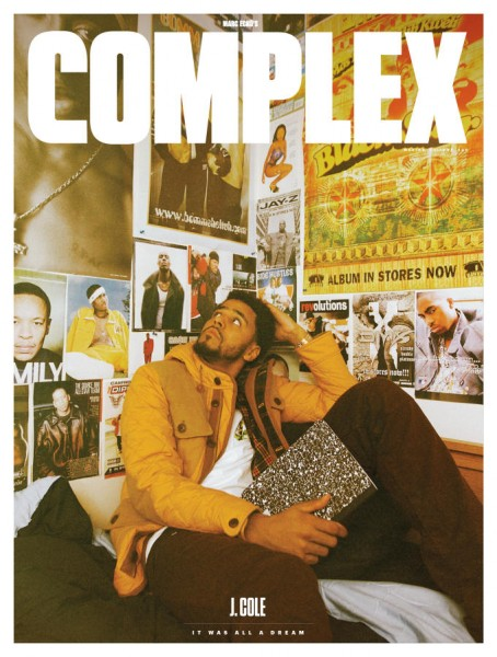 J. Cole Covers Complex's December 2014 January 2015 Issue1