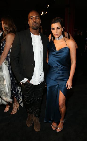 Kanye West And Kim Kardashian Attend The 2014 LACMA Art + Film Gala1