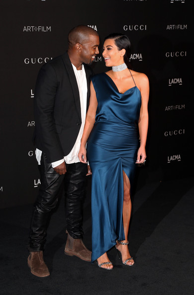 Kanye West And Kim Kardashian Attend The 2014 LACMA Art + Film Gala6