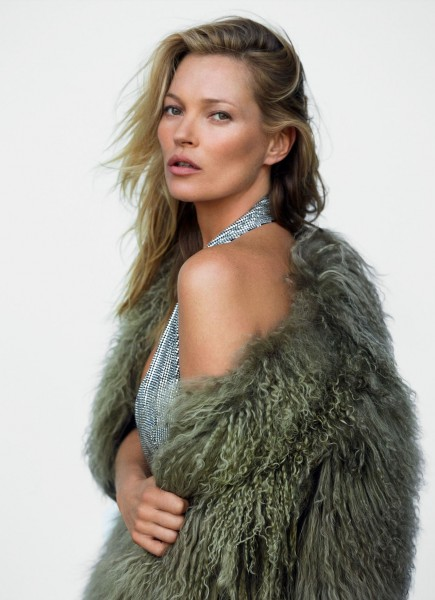 More Images Of Kate Moss For Vogue UK December 2014 3