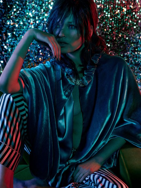 More Images Of Kate Moss For Vogue UK December 2014 6
