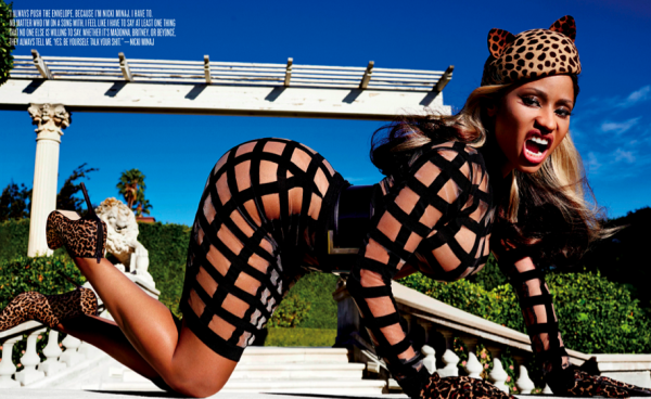 Nicki Minaj Is The Face Of V Magazine's Nov Dec Winter Issue4