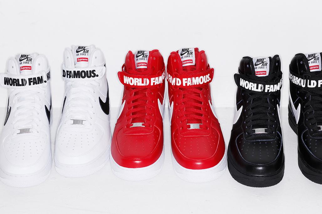 Supreme Nike AF1 High Sneakers1