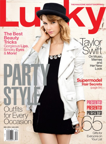 Taylor Swift For Lucky Magazine's December January Issue2