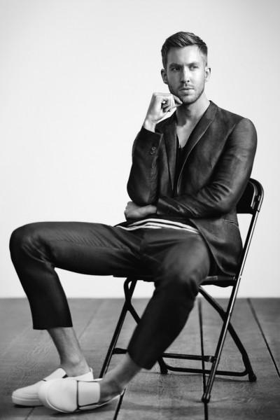Calvin Harris Named Face of Emporio Armani for Spring2