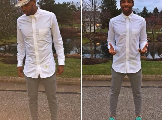 promo code 1a3e6 b889c NBA Kicks  Tristan Thompson Rocks Nike LeBron 12 s NSRL Sneakers