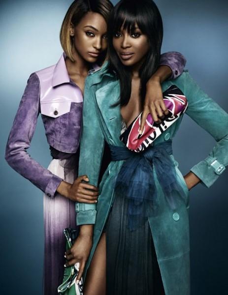 Naomi-Campbell-and-Jourdan-Dunn-for-Burberry-2