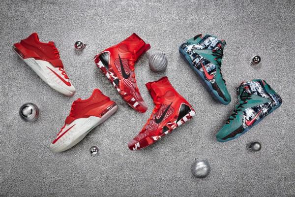 Nike Basketball 2014 Christmas Collection1