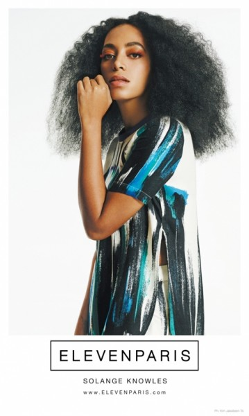 Solange Knowles For Elevenparis Spring 2015 1