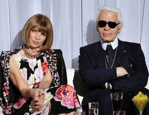 Image result for anna wintour and karl