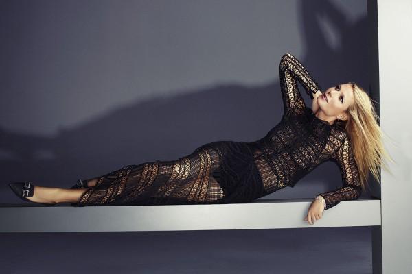 Gwyneth Paltrow  For Harper's Bazaar UK February 2015 Issue3