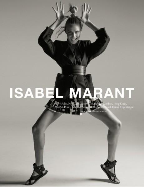 Isabel Marant Casts Natasha Poly for Spring 1