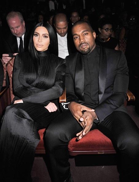 Kim Kardashian & Kanye West Balmain3