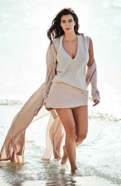 Kim Kardashian by Gilles Bensimon for Vogue Australia February 2015 3