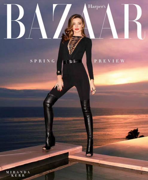 Miranda Kerr For The February 2015 Issue of Harper's BAZAAR6