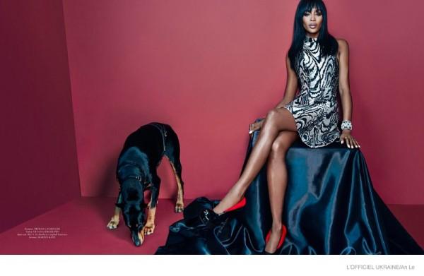 Naomi Campbell For L'Officiel Ukraine7