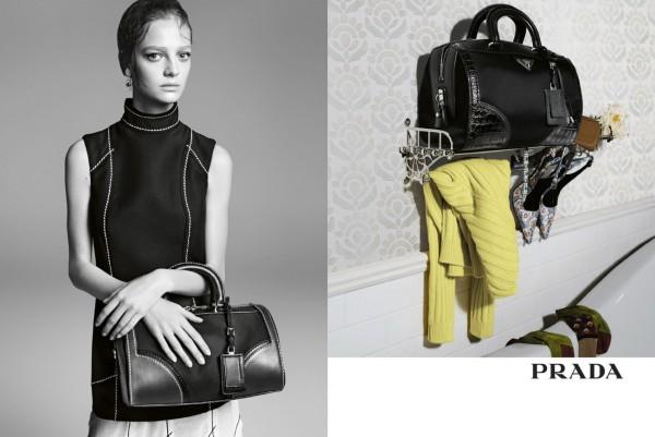 Prada's Full Spring 2015 Campaign 1