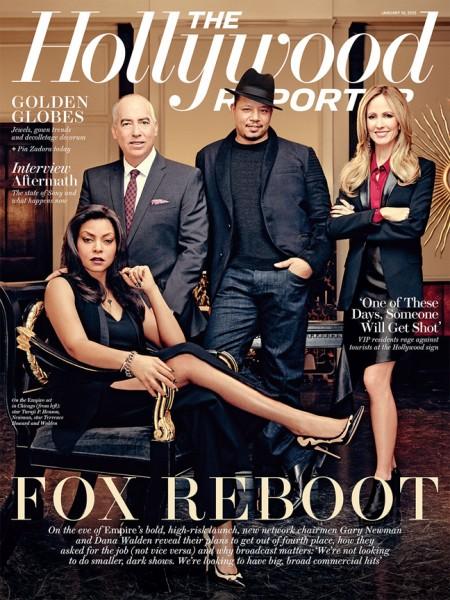 Terrence Howard & Taraji P. Henson For The Hollywood Reporter1