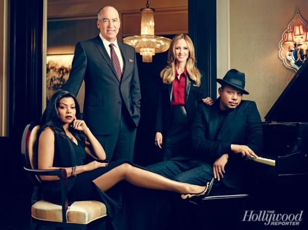 Terrence Howard & Taraji P. Henson For The Hollywood Reporter2