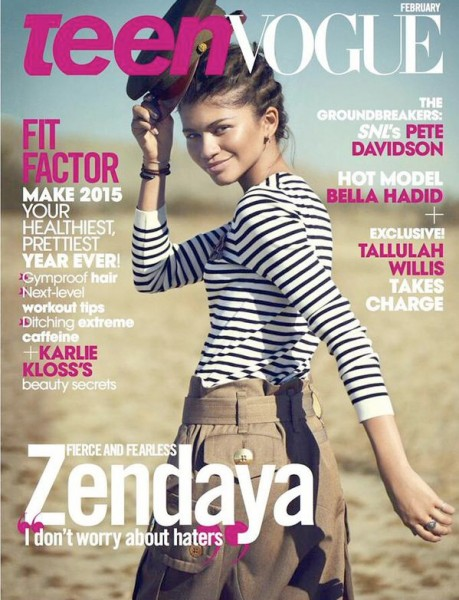 Zendaya Coleman Covers Teen Vogue's February 2015 Issue1