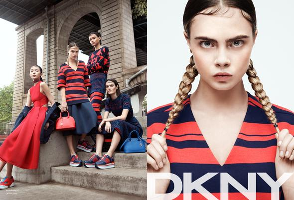 dkny spring campaign