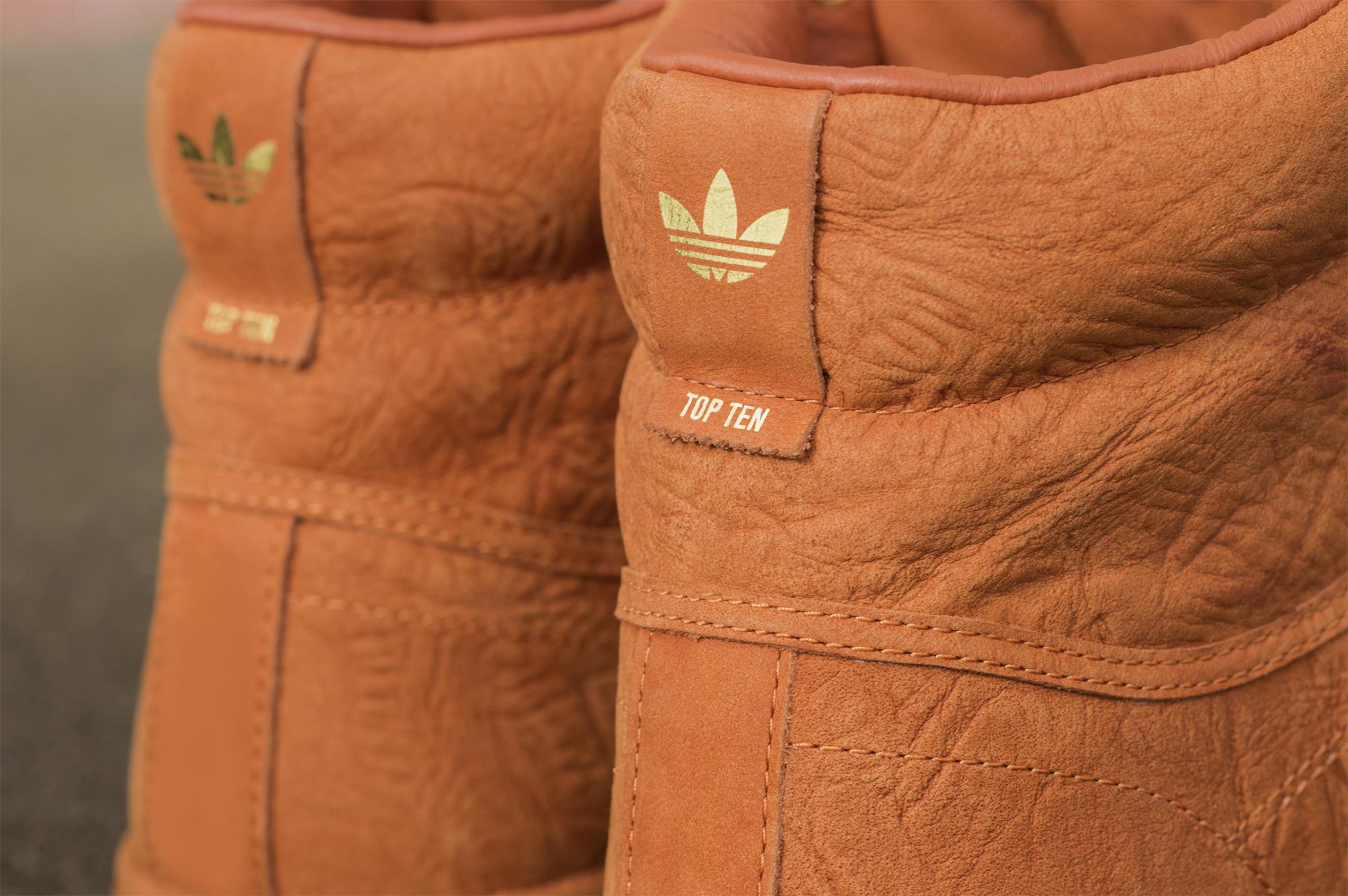 Kicks Of The Day  adidas Originals Fox Red Top Ten HI ... 9de7618a3b55