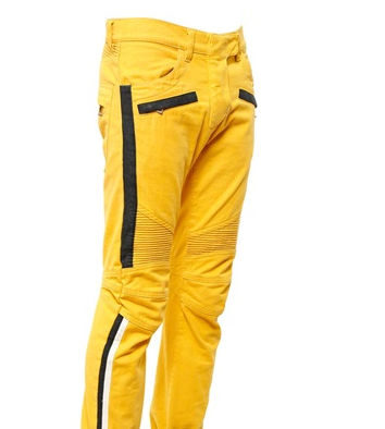 bba78e1b Miami Nights: Meek Mill Wears Yellow Balmain Jeans & Balenciaga ...