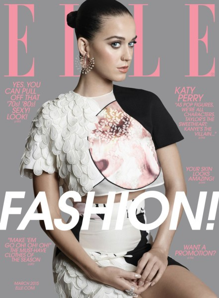 Katy Perry For ELLE Magazine's March 2015 Issue