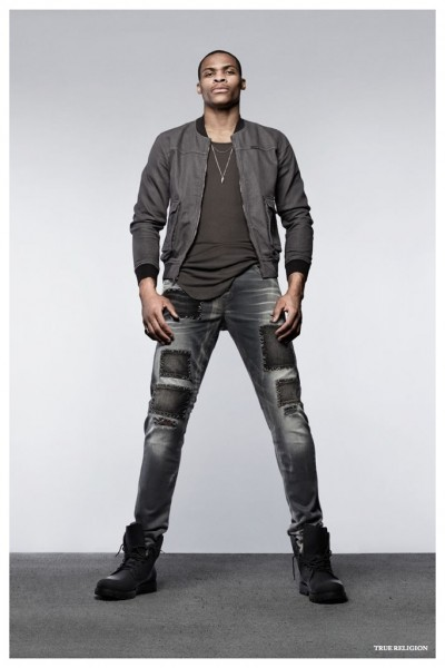 Russell Westbrook For The Brand's Spring Summer 2015 Ad Campaign 1