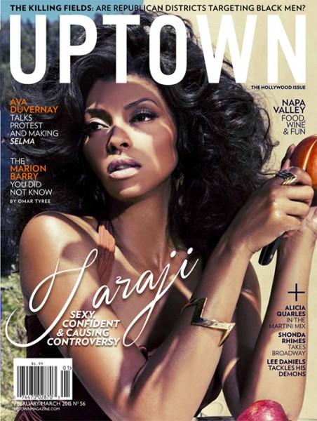 Taraji P. Henson For UPTOWN Magazine 1