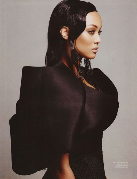Tyra Banks Covers The February 2015 Issue Of MEGA Magazine 8