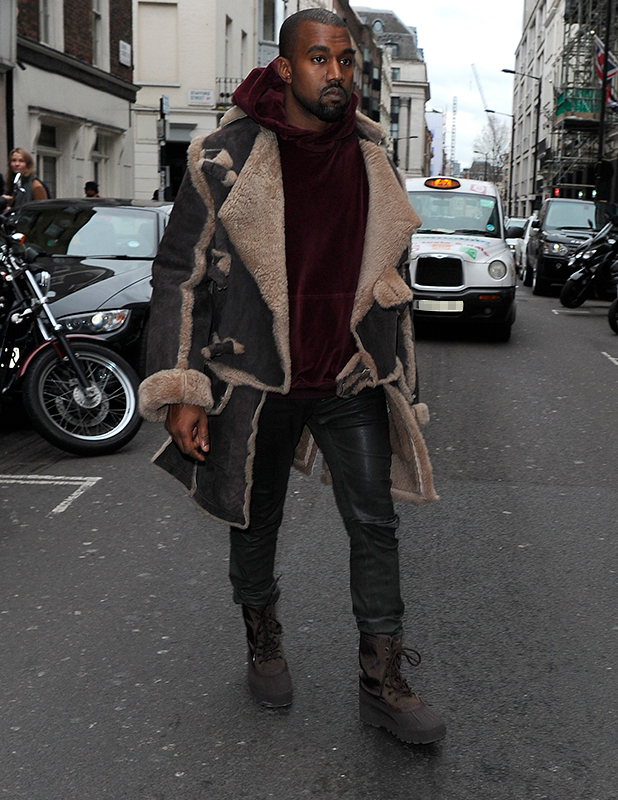 Across The Pond  Kanye West Shopping At Dover Street Market In ... 4bb2af9b01a