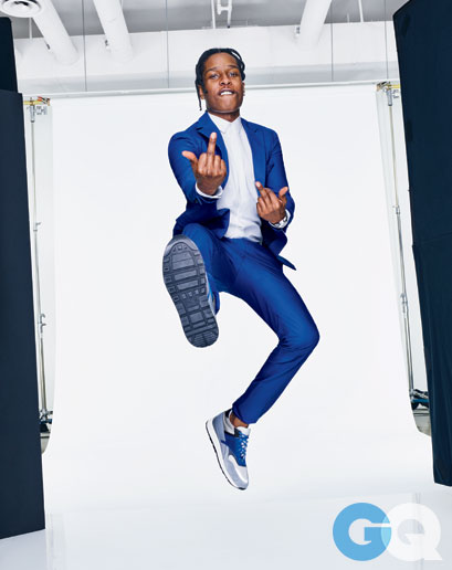 A$AP Rocky For GQ April 2015 Issue.