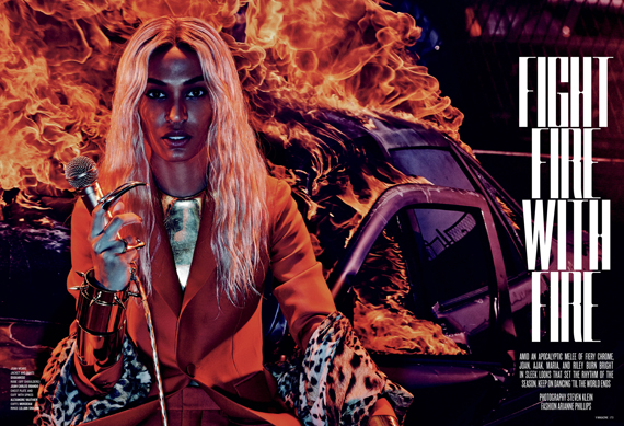 Joan Smalls, Ajak Deng, Maria Borges, Riley Montana & Maria Borges For V Magazine1