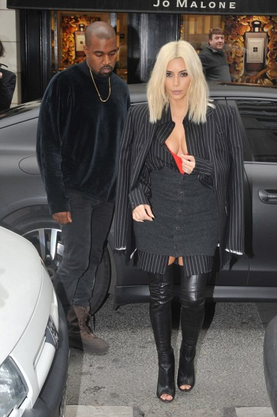 Kim Kardashian Draped In Givenchy While Leaving Le Royal Monceau Hotel 5