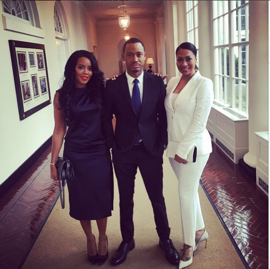 LaLa Anthony, Terrence J, Angela Simmons, Michael Ealy & More Join President Obama At The White House Film Festival 5
