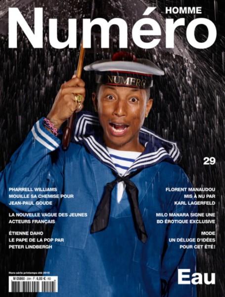 Pharrell Williams For Numéro Homme1
