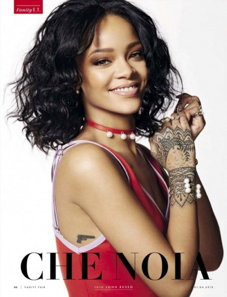 Rihanna For Vanity Fair Italia April 2015 Issue1