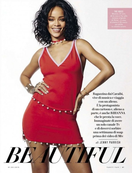 Rihanna For Vanity Fair Italia April 2015 Issue3
