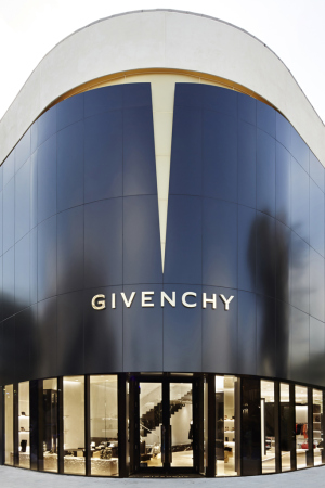 Givenchy opened a store in Miami's Design District.